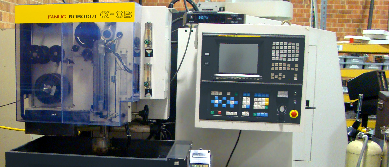 Complete tooling and machining department for mold maintenance and repair