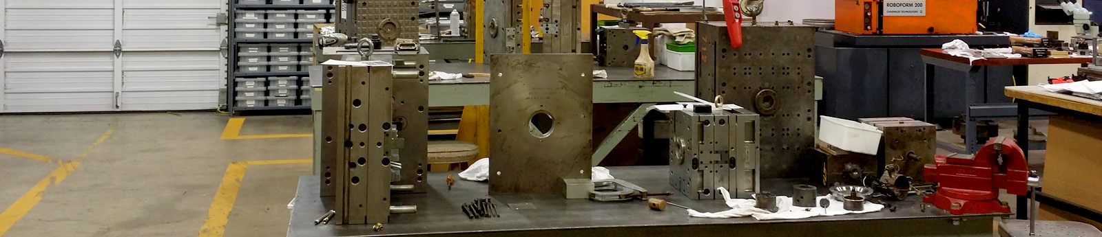 Tooling and Machining Facility for Mold Repair and Maintenance